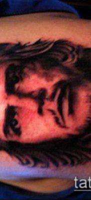 ТАТУИРОВКА ЧЕ ГЕВАРА №108 – прикольный вариант рисунка, который успешно можно использовать для доработки и нанесения как татуировка че гевара на руке