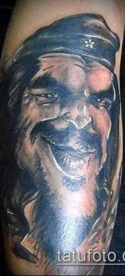 ТАТУИРОВКА ЧЕ ГЕВАРА №876 – эксклюзивный вариант рисунка, который легко можно использовать для переделки и нанесения как татуировка че гевара
