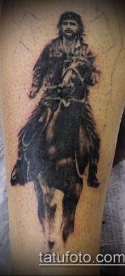 ТАТУИРОВКА ЧЕ ГЕВАРА №722 – прикольный вариант рисунка, который удачно можно использовать для переработки и нанесения как татуировка че гевара на руке