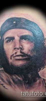 ТАТУИРОВКА ЧЕ ГЕВАРА №44 – эксклюзивный вариант рисунка, который хорошо можно использовать для доработки и нанесения как татуировка че гевара