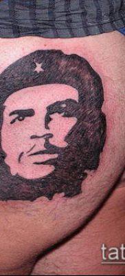 ТАТУИРОВКА ЧЕ ГЕВАРА №851 – эксклюзивный вариант рисунка, который хорошо можно использовать для переделки и нанесения как татуировка че гевара на руке