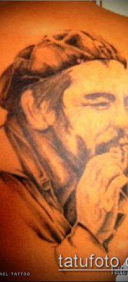 ТАТУИРОВКА ЧЕ ГЕВАРА №779 – крутой вариант рисунка, который удачно можно использовать для доработки и нанесения как татуировка че гевара на руке