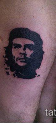 ТАТУИРОВКА ЧЕ ГЕВАРА №416 – прикольный вариант рисунка, который успешно можно использовать для доработки и нанесения как татуировка че гевара на руке