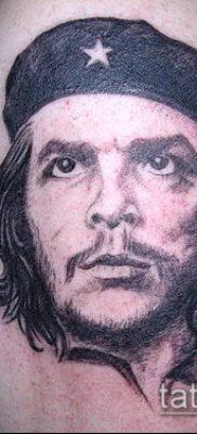 ТАТУИРОВКА ЧЕ ГЕВАРА №165 – достойный вариант рисунка, который хорошо можно использовать для переработки и нанесения как татуировка че гевара