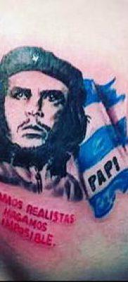 ТАТУИРОВКА ЧЕ ГЕВАРА №536 – эксклюзивный вариант рисунка, который легко можно использовать для переработки и нанесения как татуировка че гевара на руке