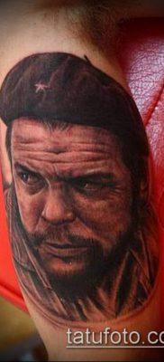 ТАТУИРОВКА ЧЕ ГЕВАРА №111 – эксклюзивный вариант рисунка, который легко можно использовать для переделки и нанесения как татуировка че гевара
