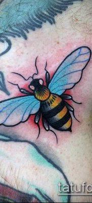 ТАТУИРОВКА ШМЕЛЬ №618 – крутой вариант рисунка, который легко можно использовать для переделки и нанесения как татуировка шмель