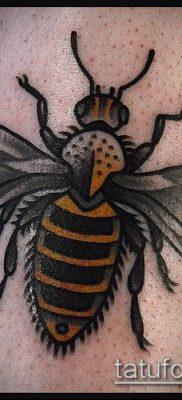 ТАТУИРОВКА ШМЕЛЬ №361 – достойный вариант рисунка, который успешно можно использовать для переделки и нанесения как татуировка шмель