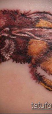 ТАТУИРОВКА ШМЕЛЬ №736 – прикольный вариант рисунка, который легко можно использовать для доработки и нанесения как татуировка шмель