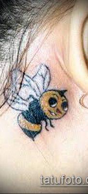 ТАТУИРОВКА ШМЕЛЬ №659 – классный вариант рисунка, который удачно можно использовать для преобразования и нанесения как татуировка шмель щербинка