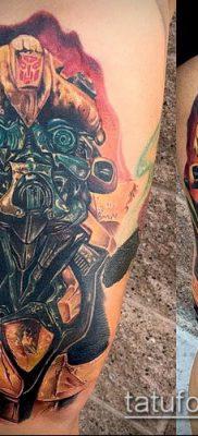 ТАТУИРОВКА ШМЕЛЬ №609 – крутой вариант рисунка, который легко можно использовать для переделки и нанесения как татуировка шмель