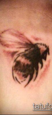 ТАТУИРОВКА ШМЕЛЬ №607 – достойный вариант рисунка, который удачно можно использовать для доработки и нанесения как татуировка шмель щербинка