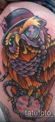 ТАТУИРОВКИ НЬЮ СКУЛ №791 – прикольный вариант рисунка, который хорошо можно использовать для доработки и нанесения как тату нью скул розы