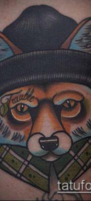 ТАТУИРОВКИ НЬЮ СКУЛ №83 – классный вариант рисунка, который успешно можно использовать для преобразования и нанесения как тату в стиле нью скул