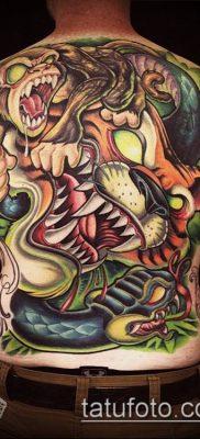 ТАТУИРОВКИ НЬЮ СКУЛ №283 – классный вариант рисунка, который легко можно использовать для переработки и нанесения как татуировки нью скул