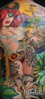 ТАТУИРОВКИ НЬЮ СКУЛ №302 – эксклюзивный вариант рисунка, который хорошо можно использовать для доработки и нанесения как тату в стиле нью скул