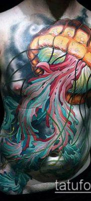 ТАТУИРОВКИ НЬЮ СКУЛ №983 – интересный вариант рисунка, который легко можно использовать для доработки и нанесения как татуировки нью скул
