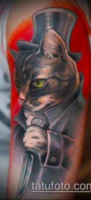 ТАТУИРОВКИ НЬЮ СКУЛ №607 – крутой вариант рисунка, который удачно можно использовать для переработки и нанесения как татуировки нью скул