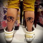 ТАТУ В ЕГИПЕТСКОМ СТИЛЕ №37 - классный вариант рисунка, который хорошо можно использовать для переделки и нанесения как тату в египетском стиле на руке