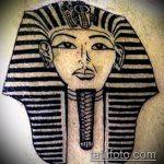 ТАТУ В ЕГИПЕТСКОМ СТИЛЕ №953 - уникальный вариант рисунка, который хорошо можно использовать для переделки и нанесения как тату в египетском стиле чикаго
