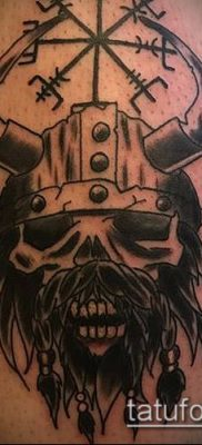 ТАТУИРОВКА СКАНДИНАВСКИЕ РУНЫ №231 – интересный вариант рисунка, который удачно можно использовать для переработки и нанесения как татуировка скандинавские руны для оберегов