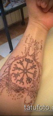 ТАТУИРОВКА СКАНДИНАВСКИЕ РУНЫ №854 – эксклюзивный вариант рисунка, который хорошо можно использовать для переделки и нанесения как татуировка скандинавские руны йера