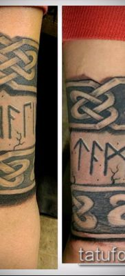 ТАТУИРОВКА СКАНДИНАВСКИЕ РУНЫ №299 – крутой вариант рисунка, который успешно можно использовать для переработки и нанесения как татуировка скандинавских рун