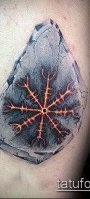 ТАТУИРОВКА СКАНДИНАВСКИЕ РУНЫ №564 – прикольный вариант рисунка, который хорошо можно использовать для преобразования и нанесения как татуировка скандинавских рун