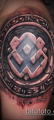ТАТУИРОВКА СКАНДИНАВСКИЕ РУНЫ №778 – достойный вариант рисунка, который успешно можно использовать для доработки и нанесения как татуировка скандинавских рун