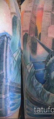 фото ТАТУ СТАТУЯ СВОБОДЫ (Tattoo) (значение) – пример рисунка – 003 tatufoto.com