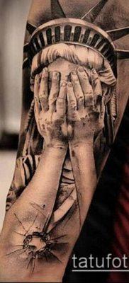 фото ТАТУ СТАТУЯ СВОБОДЫ (Tattoo) (значение) – пример рисунка – 005 tatufoto.com