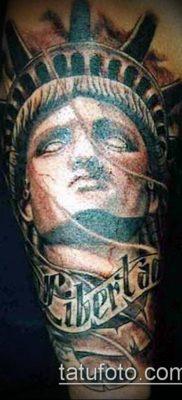 фото ТАТУ СТАТУЯ СВОБОДЫ (Tattoo) (значение) – пример рисунка – 006 tatufoto.com