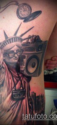 фото ТАТУ СТАТУЯ СВОБОДЫ (Tattoo) (значение) – пример рисунка – 007 tatufoto.com