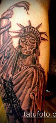 фото ТАТУ СТАТУЯ СВОБОДЫ (Tattoo) (значение) – пример рисунка – 008 tatufoto.com