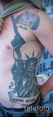 фото ТАТУ СТАТУЯ СВОБОДЫ (Tattoo) (значение) – пример рисунка – 011 tatufoto.com