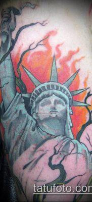 фото ТАТУ СТАТУЯ СВОБОДЫ (Tattoo) (значение) – пример рисунка – 013 tatufoto.com