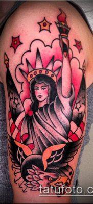 фото ТАТУ СТАТУЯ СВОБОДЫ (Tattoo) (значение) – пример рисунка – 014 tatufoto.com