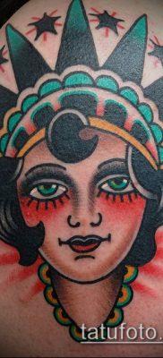 фото ТАТУ СТАТУЯ СВОБОДЫ (Tattoo) (значение) – пример рисунка – 015 tatufoto.com