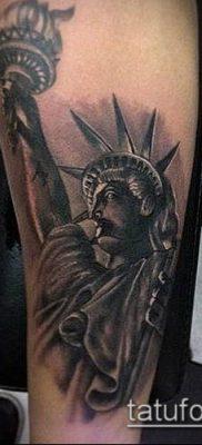 фото ТАТУ СТАТУЯ СВОБОДЫ (Tattoo) (значение) – пример рисунка – 019 tatufoto.com
