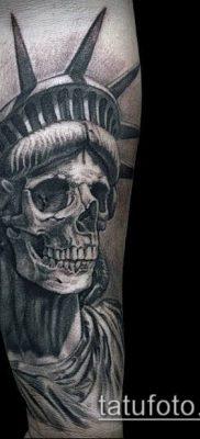 фото ТАТУ СТАТУЯ СВОБОДЫ (Tattoo) (значение) – пример рисунка – 020 tatufoto.com