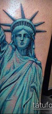 фото ТАТУ СТАТУЯ СВОБОДЫ (Tattoo) (значение) – пример рисунка – 021 tatufoto.com