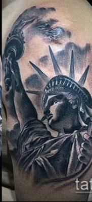 фото ТАТУ СТАТУЯ СВОБОДЫ (Tattoo) (значение) – пример рисунка – 022 tatufoto.com
