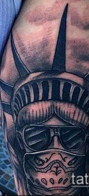 фото ТАТУ СТАТУЯ СВОБОДЫ (Tattoo) (значение) – пример рисунка – 026 tatufoto.com