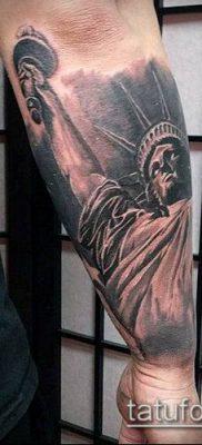 фото ТАТУ СТАТУЯ СВОБОДЫ (Tattoo) (значение) – пример рисунка – 029 tatufoto.com