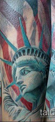 фото ТАТУ СТАТУЯ СВОБОДЫ (Tattoo) (значение) – пример рисунка – 030 tatufoto.com