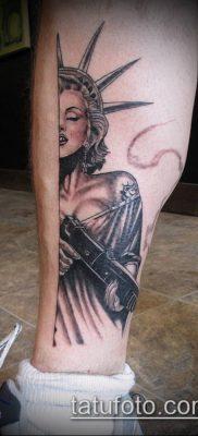 фото ТАТУ СТАТУЯ СВОБОДЫ (Tattoo) (значение) – пример рисунка – 031 tatufoto.com