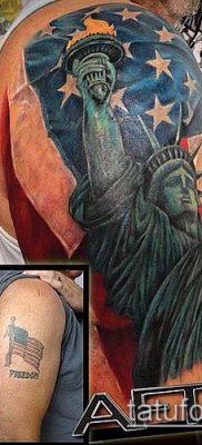 фото ТАТУ СТАТУЯ СВОБОДЫ (Tattoo) (значение) – пример рисунка – 033 tatufoto.com