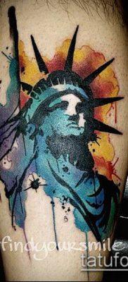 фото ТАТУ СТАТУЯ СВОБОДЫ (Tattoo) (значение) – пример рисунка – 035 tatufoto.com