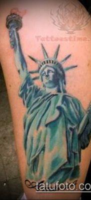 фото ТАТУ СТАТУЯ СВОБОДЫ (Tattoo) (значение) – пример рисунка – 036 tatufoto.com