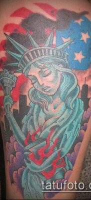фото ТАТУ СТАТУЯ СВОБОДЫ (Tattoo) (значение) – пример рисунка – 037 tatufoto.com